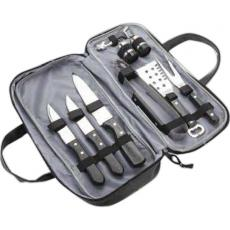 Knives Kitchen Carving - 3 piece barbecue set with Lichee compact bag
