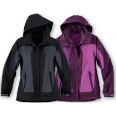 Performance Apparel - North End<sup>®</sup> - 3XL -  Ladies' 3-in-1 seam sealed mid length jacket