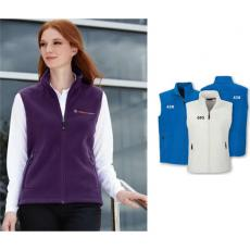 Vests General - North End<sup>®</sup>;Voyage - XS-XL -  Ladies' fleece vest with center front reverse coil zipper