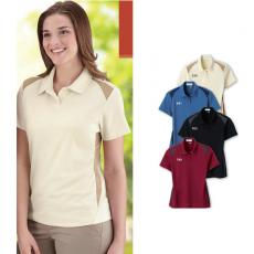 Performance Apparel - IL Migliore<sup>®</sup> - 3XL -  Ladies' recycled polyester performance honeycomb color-block polo shirt