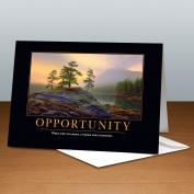 Opportunity Mountain Lake 25-Pack Greeting Cards <span>(727094)</span> Classic Motivational (727094), Classic Motivational Cards