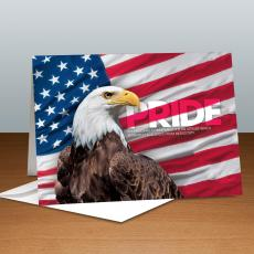 Pride Eagle Infinity Edge 25-Pack Greeting Cards
