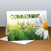 Commitment Daisy Infinity Edge 25-Pack Greeting Cards <span>(726367)</span> Modern Motivational (726367) - $37.99