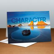 Character Boulder Infinity Edge 25-Pack Greeting Cards