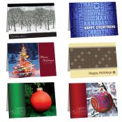 Holiday Sampler 10-Pack Greeting Cards