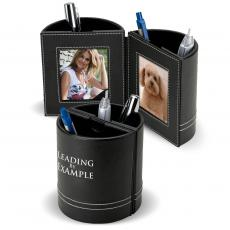 Pen Holder With Photo Frame