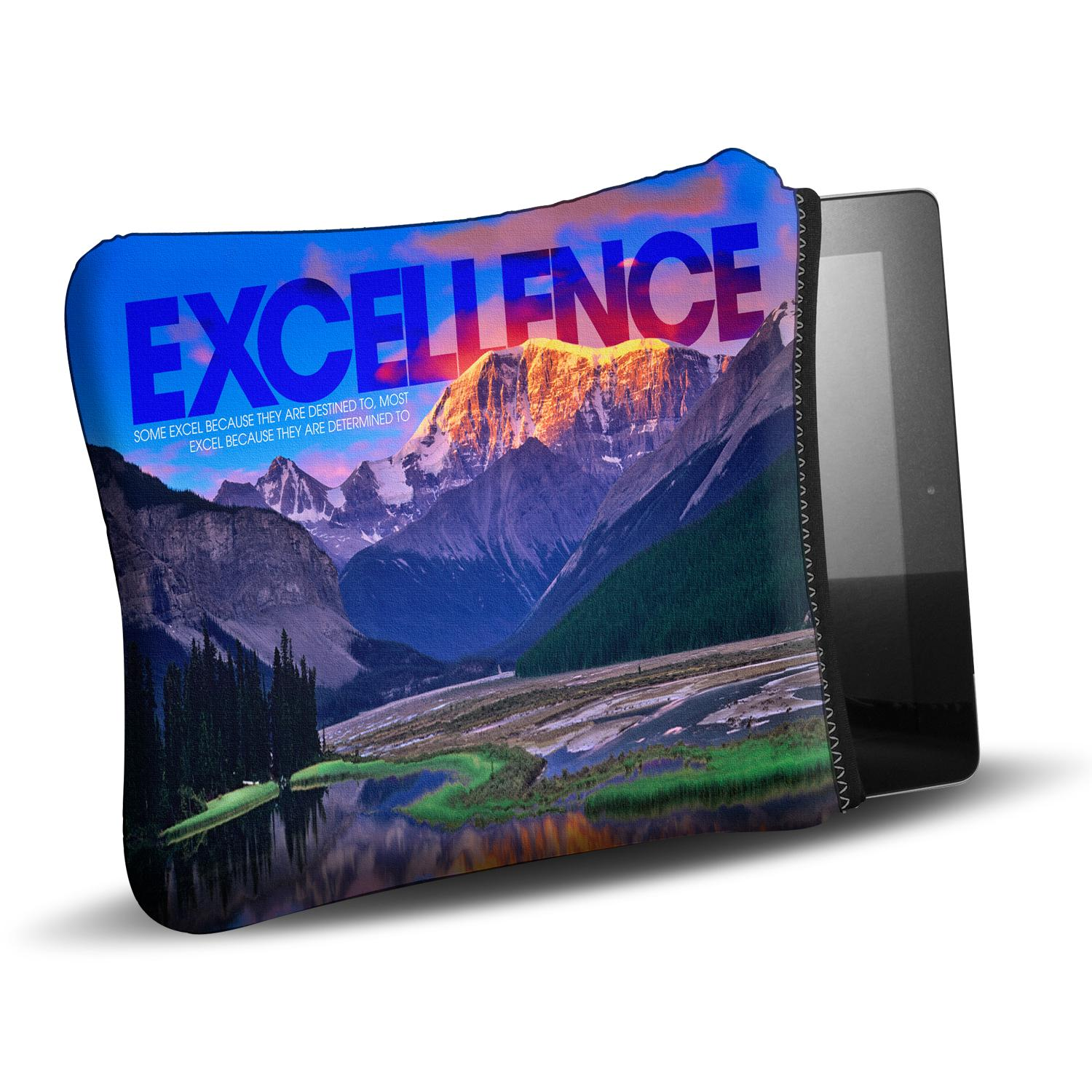 Excellence Mountain Ipad Sleeve