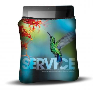 Service Hummingbird Ipad Sleeve