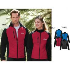 Outerwear - Epic;North End Sport<sup>®</sup> - XS-XL -  Ladies' insulated hybrid bonded fleece jacket