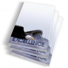 Instant Recognition - Excellence Eagle Notepads