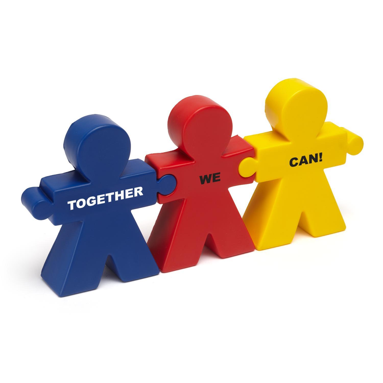 Teamwork Trio Stress Reliever Teamwork