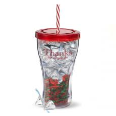 Candy & Food Gifts - Thank You Candy Tumbler
