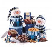 Scrumptious Snowman Gift Tower