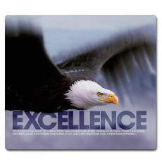 Desktop Instant Recognition - Excellence Eagle Mousepad