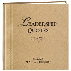 Leadership Quotes Book Admin Gift