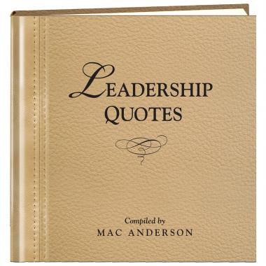 Leadership Quotes Book
