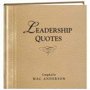 Leadership Quotes Book Inspirational Gift (781123)