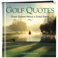 Golf Quotes Book