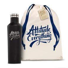 Personalized - Corkcicle 16oz Canteen Attitude is Everything