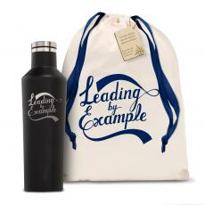 Personalized - Corkcicle 16oz Canteen Leading by Example