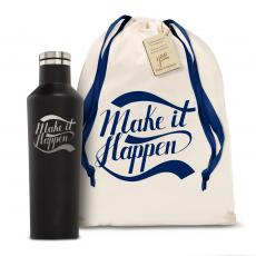 Personalized - Corkcicle 16oz Canteen Make it Happen