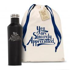Personalized - Corkcicle 16oz Canteen Sincerely Appreciated