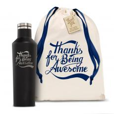 Personalized - Corkcicle 16oz Canteen Thanks for Being Awesome