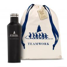 Holiday Gifts - Corkcicle 16oz Canteen Teamwork Holiday