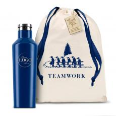 Holiday Gifts - Logo Corkcicle 16oz Canteen Holiday Teamwork