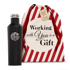 Holiday Gifts - Monogram Corkcicle 16oz Canteen Holiday Gift