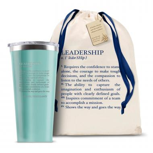 Corkcicle 16oz Tumbler Leadership Definition