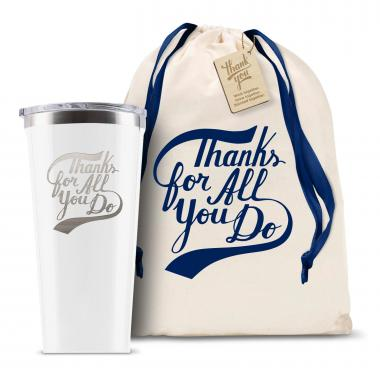Corkcicle 16oz Tumbler Thanks for All You Do