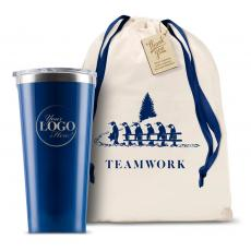 Holiday Gifts - Logo Corkcicle 16oz Tumbler Holiday Teamwork