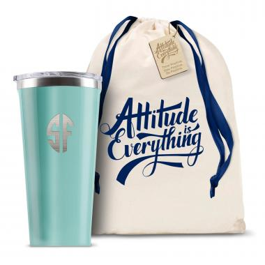 Monogram Corkcicle 16oz Tumbler