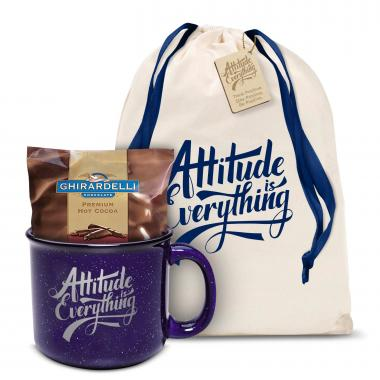 Attitude is Everything Camp Mug Gift Set