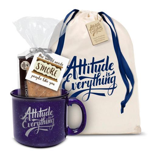 Attitude is Everything Camp Mug Gift Set