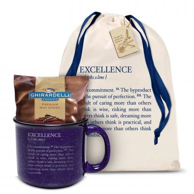 Excellence Definition Camp Mug Gift Set