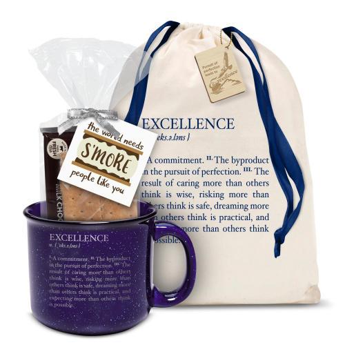 Excellence Definition Camp Mug Gift Set