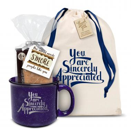 Sincerely Appreciated Camp Mug Gift Set