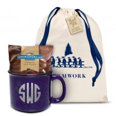 Holiday Gifts - Teamwork Ceramic Camp Mug Set Monogram