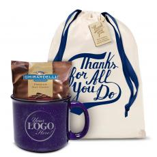 New Products - Ceramic Camp Mug Gift Set Logo