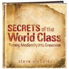 Inspirational Gift Books - Secrets of the World Class Gift Book