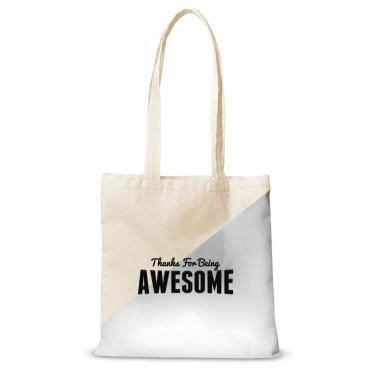 Canvas Tote Thanks for Being Awesome