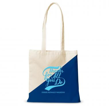 Canvas Tote Thanks for All You Do Script