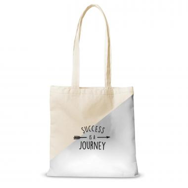Canvas Tote Success is a Journey