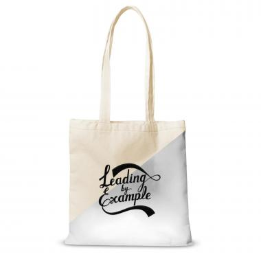 Canvas Tote Leading by Example Script