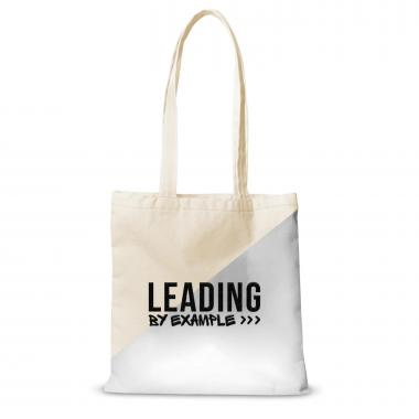 Canvas Tote Leading by Example
