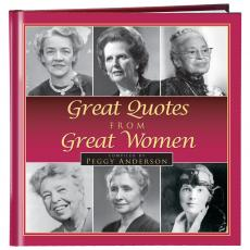 Inspirational Gift Books - Great Quotes from Great Women Gift Book