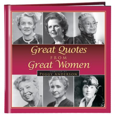 Great Quotes from Great Women Gift Book