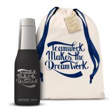 Personalized Gifts - Teamwork Dream Work Svelte 20oz Tumbler